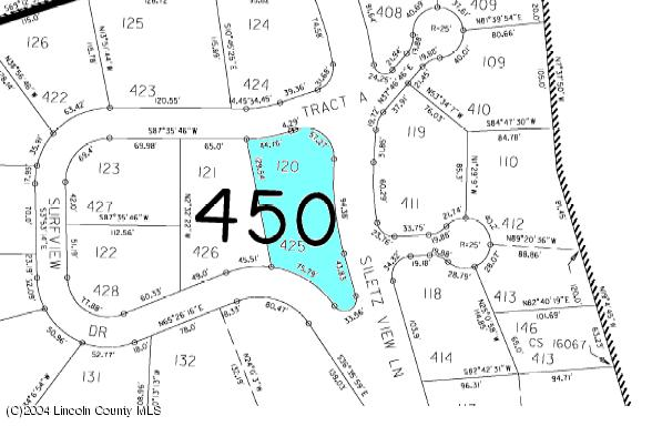 425 Siletz View Ln, Gleneden Beach, OR 97388 - Plat map