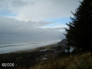 LOT 56 Haystack, Neskowin, OR 97149 - Stormy view north (Haystack Rock in fog)