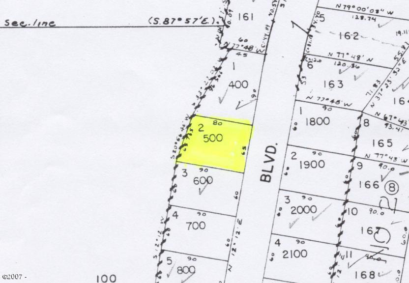 660 SE Ball Blvd, Waldport, OR 97394 - Plat