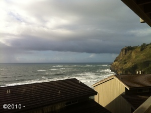 UNIT 410/411 Inn At Otter Crest (1/2 Ownership), Otter Rock, OR 97369 - Ocean View to the North