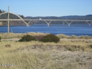 9 NW Oceania Dr, Waldport, OR 97394 - view of the bay and bridge