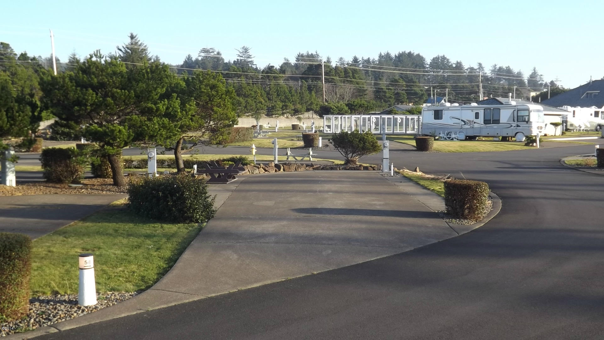 6225 N Coast Hwy Lot  58, Newport, OR 97365 - Lot 58 View from the street