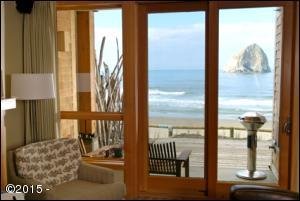 33000 Cape Kiwanda Dr, Pacific City, OR 97135 - Cottage view from living room