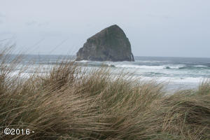 Haystack Rock is the symbol of Pacific City. Just a 5 minute walk from this home