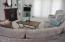 3930 NE Megginson St, #B, Newport, OR 97365 - Living Area Open to 2nd Floor Deck