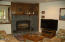 453 US-101 S, Yachats, OR 97498 - Fireplace (propane) at living room