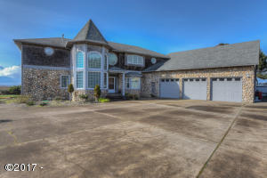 12360 NW Ocean Vista Ln, Seal Rock, OR 97376 - front view