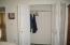 296 Bella Beach Drive, Depoe Bay, OR 97341 - Main floor bedroom closet