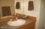 296 Bella Beach Drive, Depoe Bay, OR 97341 - Main floor vanity
