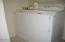 296 Bella Beach Drive, Depoe Bay, OR 97341 - Laundry area