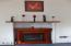 1710 NW Parker Ave, Waldport, OR 97394 - Electric Fireplace!