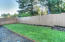 1420 SE Oar Ave., Lincoln City, OR 97367 - Fenced Back Yard