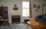 225 Derrick St, Depoe Bay, OR 97341 - Living Room Fireplace
