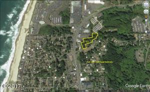 2100 BLK NE 36th Drive, Lincoln City, OR 97367 - Wrenn Lot Aerial