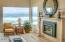 4175 N Hwy 101, D8, Depoe Bay, OR 97388 - Gas fireplace in living room