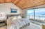 4175 N Hwy 101, D8, Depoe Bay, OR 97388 - Master bedroom with deck