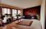 1918 NE Spindrift Ct, Lincoln City, OR 97367 - Living room with wood fireplace