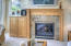 325 Cliff St, Depoe Bay, OR 97341 - Gas fireplace