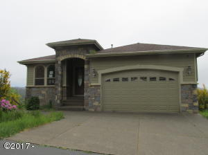 335 NE Spring, Depoe Bay, OR 97341 - Front of house