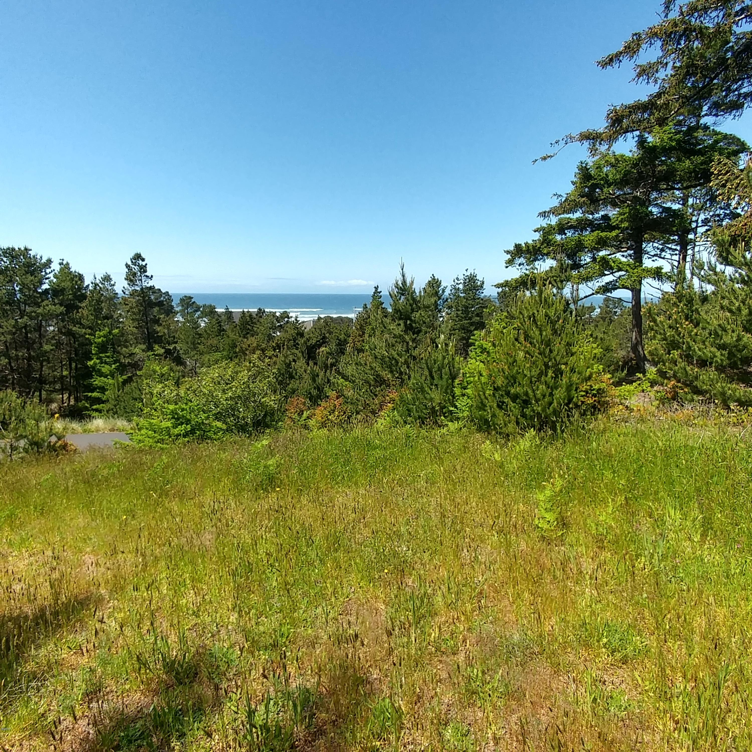 LOT 4 NW Lotus Lake Dr., Waldport, OR 97394 - House site view