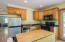 381 Maple Dr, Otis, OR 97368 - Apartment Kitchen
