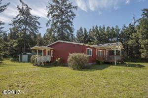1171 NW Fox Creek Drive, Seal Rock, OR 97376 - Home and Shed