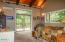 847 Hamer Rd, Siletz, OR 97380 - Master bedroom w/ deck