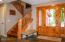 847 Hamer Rd, Siletz, OR 97380 - Stairway to upper bedrooms