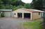 17394 E Alsea Hwy, Tidewater, OR 97390 - Large garage and shop.