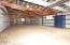 17394 E Alsea Hwy, Tidewater, OR 97390 - Interior of garage.