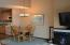 301 Otter Crest Dr, 358-9, 1/6th Share, Otter Rock, OR 97369 - Dining and fireplace