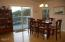 125 NW Vista St, Depoe Bay, OR 97341 - Dining Room with Deck