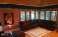 754 NW Highland Dr, Waldport, OR 97394 - Beautiful accustic open wood ceiling