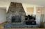 6204 NE Logan Road, Lincoln City, OR 97367 - Fireplace