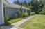 190 NE 121st St, Newport, OR 97365 - Walk way from Garage