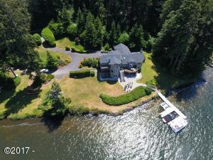 1727 NE East Devils Lake Rd, Otis, OR 97368 - Aerial Better