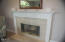 626 N Bayview Loop, Waldport, OR 97394 - Master Suite Fireplace