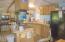 449 N Deerlane Dr, Otis, OR 97368 - Dining Room to Kitchen