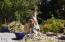 6225 N. Coast Hwy Lot 126, Newport, OR 97365 - Lot 126 Dolphin Wood sculpture 7-26-17