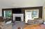 2601 NW Parker Ave, Waldport, OR 97394 - Living Room w/Fireplace!