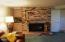 6765 Neptune Avenue, Gleneden Beach, OR 97388 - Bonus Room Fireplace