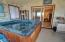 8898 Marine View St, South Beach, OR 97366 - Enclosed Hot tub area