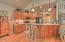 1935 NE Tide Ave, Lincoln City, OR 97367 - Kitchen with seating bar