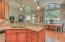 1935 NE Tide Ave, Lincoln City, OR 97367 - Art glass lighting and corian counters
