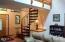571 Fairway Dr, Gleneden Beach, OR 97388 - Spiral Staircase to loft