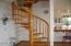 530 SW Coast Ave, Depoe Bay, OR 97341 - Circular staircase to bedroom suite