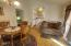 120 NE East Slope Rd, Toledo, OR 97391 - Dining area and entry to kitchen