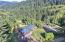 1266 N Yachats River Road, Yachats, OR 97498 - Aerial Home and Forest