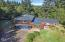 1266 N Yachats River Road, Yachats, OR 97498 - Home Aerial Close UP