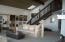 535 SW Cardinal Street, Depoe Bay, OR 97341 - Living room w/stairs to loft